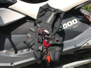 jet ski accessories life jackets black