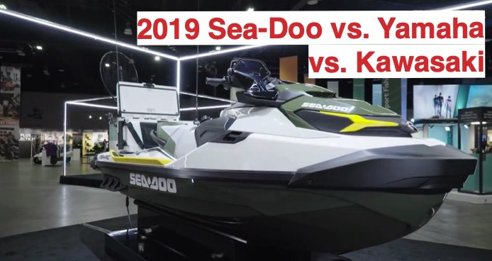 2019 Sea-Doo vs. Yamaha vs. Kawasaki