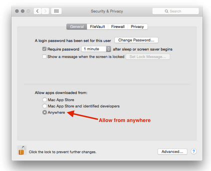 OSX Install Security
