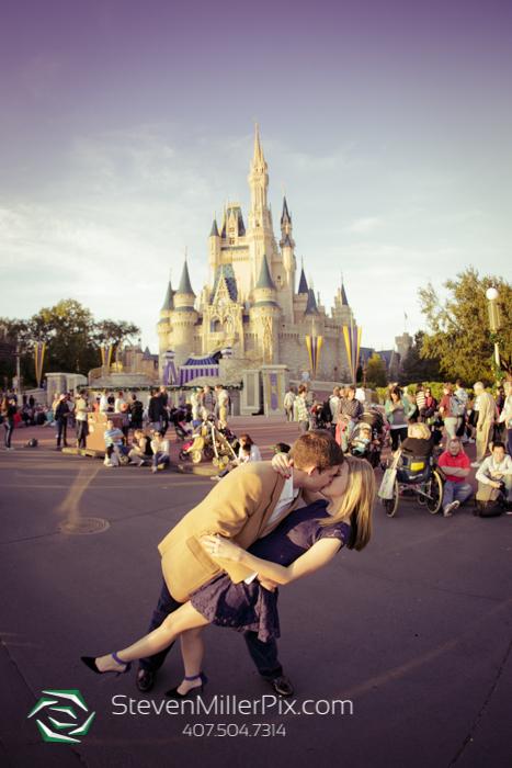 Magic Kingdom Proposal Photographers Disney World