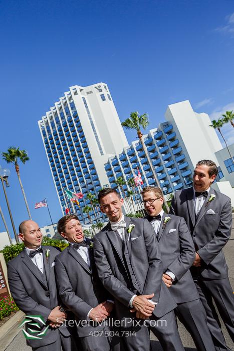 Buena Vista Palace Wedding Photographers In Orlando Florida