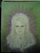Amy North. Drawn by Laurie. R Creations