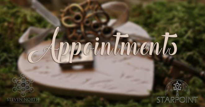 Appointments with Steven North & Amy North