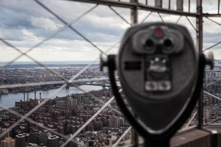 Binoculars at the Empire State