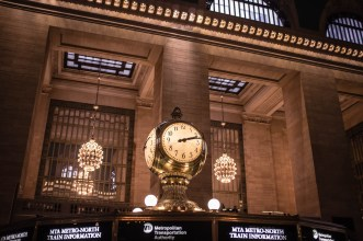 Grand Central Station, Information Centre Clock