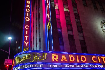 Radio City Music Hall Neon