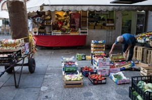 Market Trader Stall