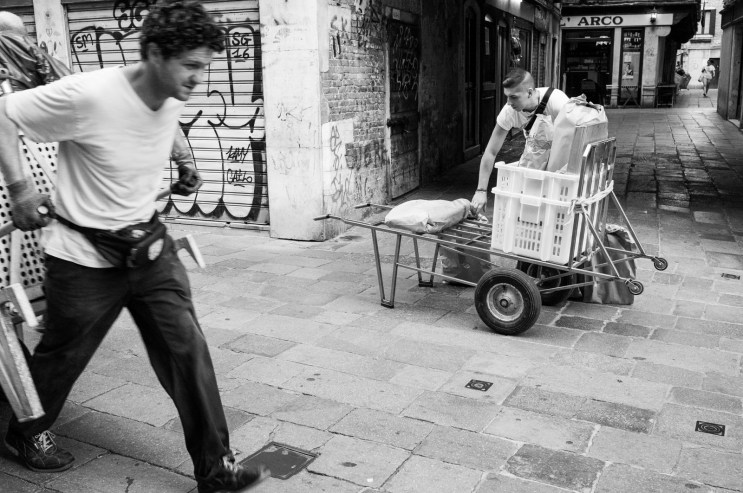 Venetian Delivery Drivers
