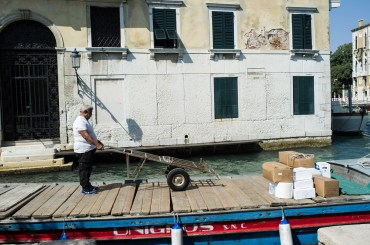 Venitian Delivery Driver
