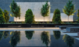 Architecture Photography Corporate Courtyard