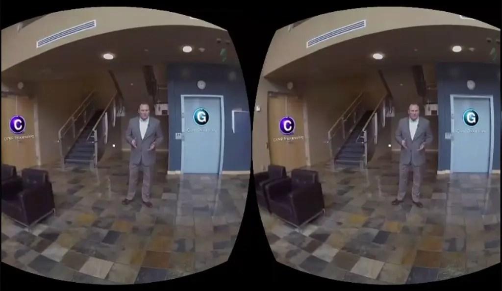 Gear VR Interactive 3D 360 Video