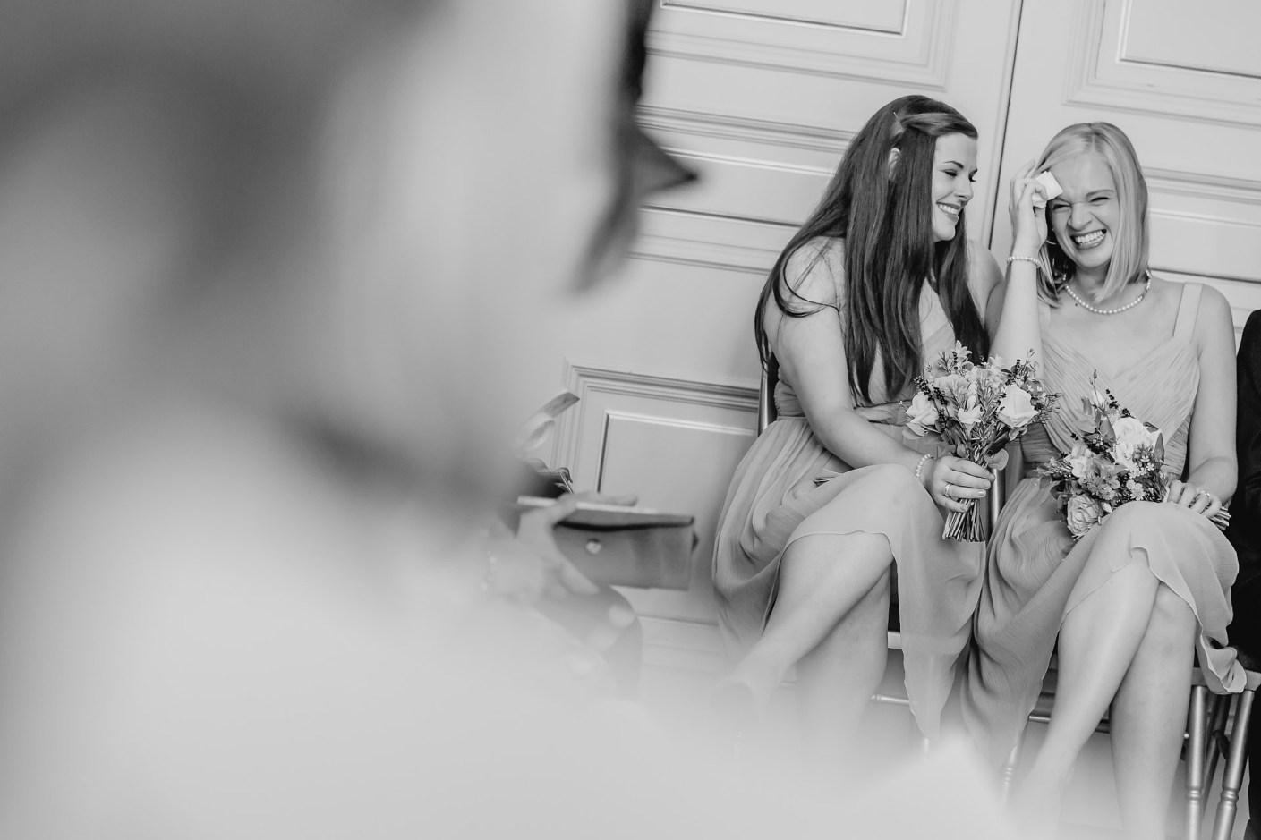 emotional bridesmaids