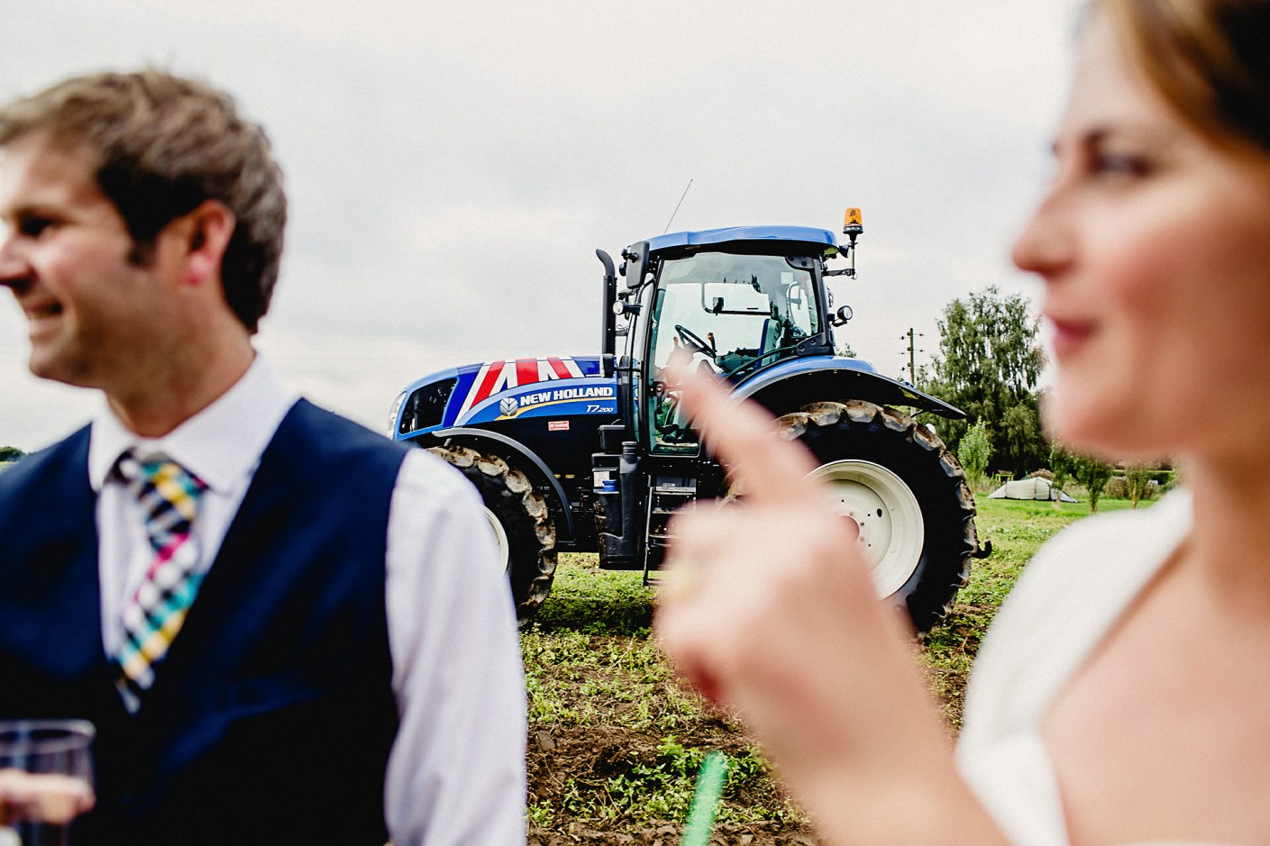 the tractor again