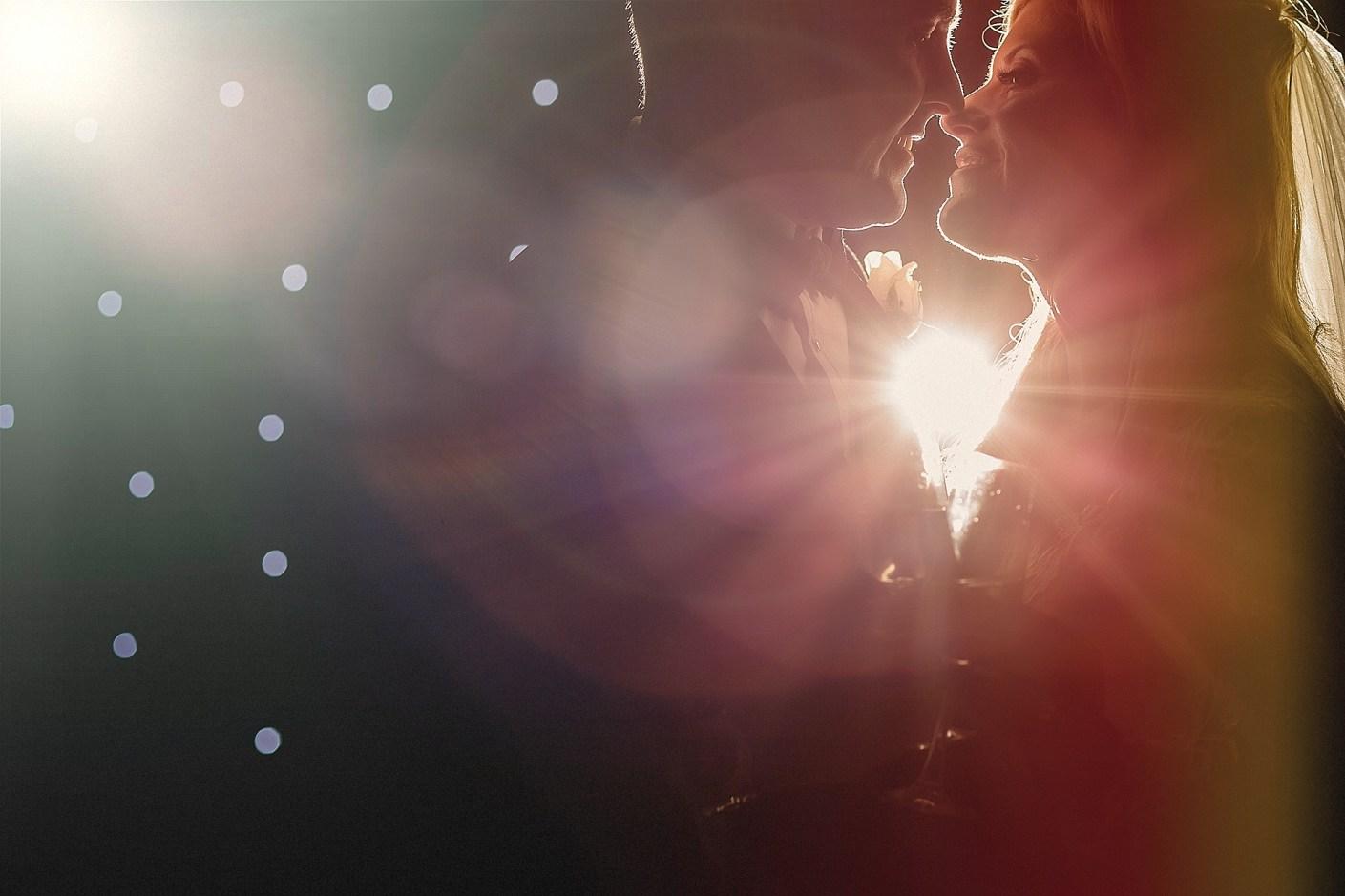lens flare, bokeh, rim light