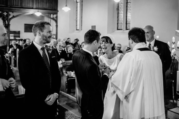 laughter in the church
