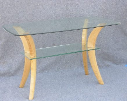 Curly Maple High table