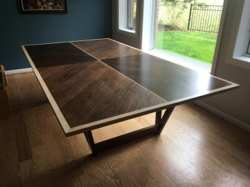 Custom ping pong table