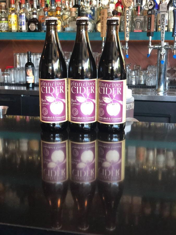 Oregon Cider Week: Black Currant Cider Cocktail Night Verde Cocina on Mississippi hosted by Steven Shomler