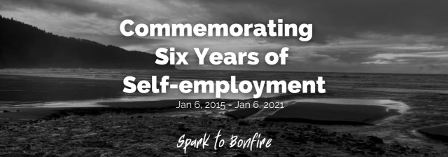 Commemorating Six Years of Self-employment