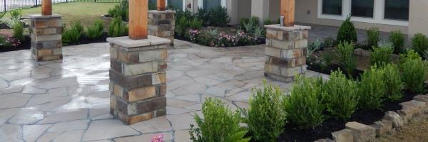 patio backyard landscaping contractor
