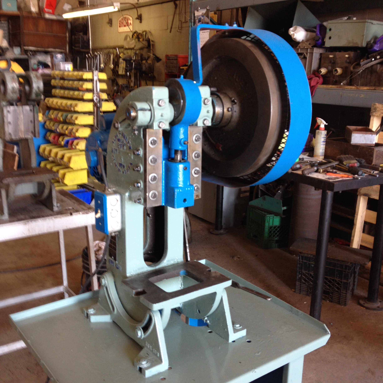 187 5 Ton Alva Allen Bt5 Obi Mechanical Punch Press