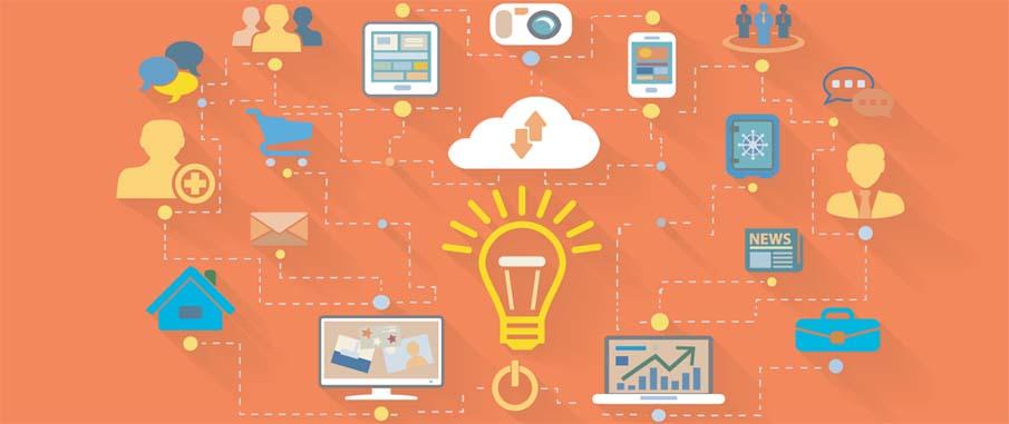 multichannel marketing graphic