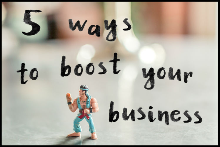 5 ways to boost business in 2016