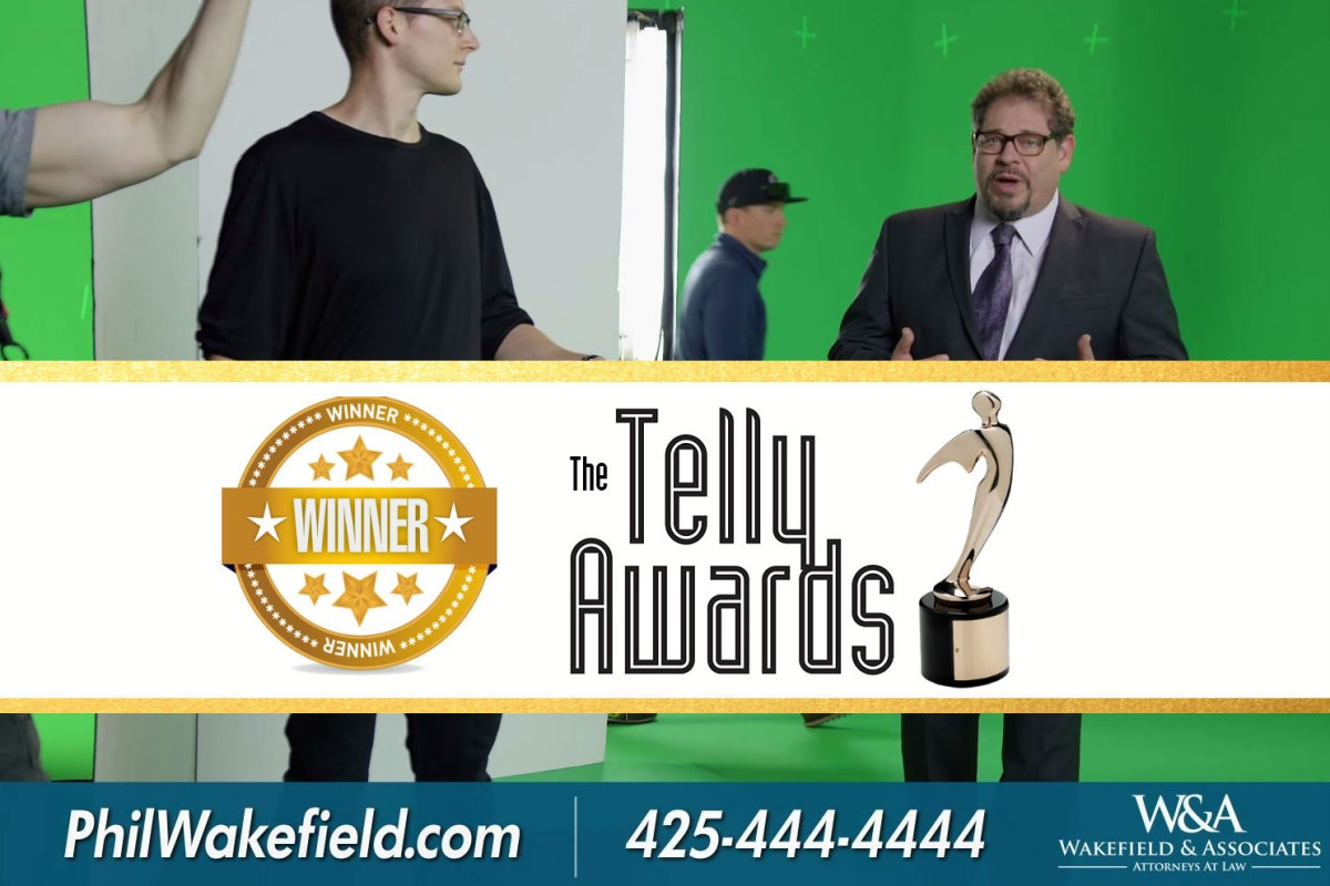 Telly award winner tv commercial Lynnwood
