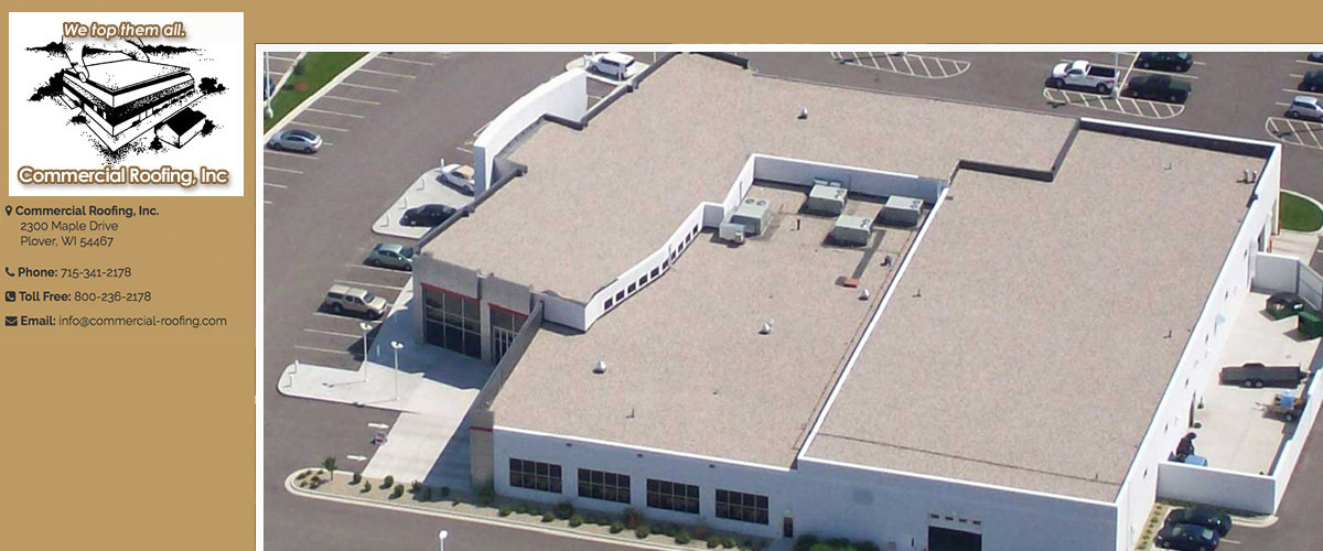 Commercial Roofing in Stevens Point, WI