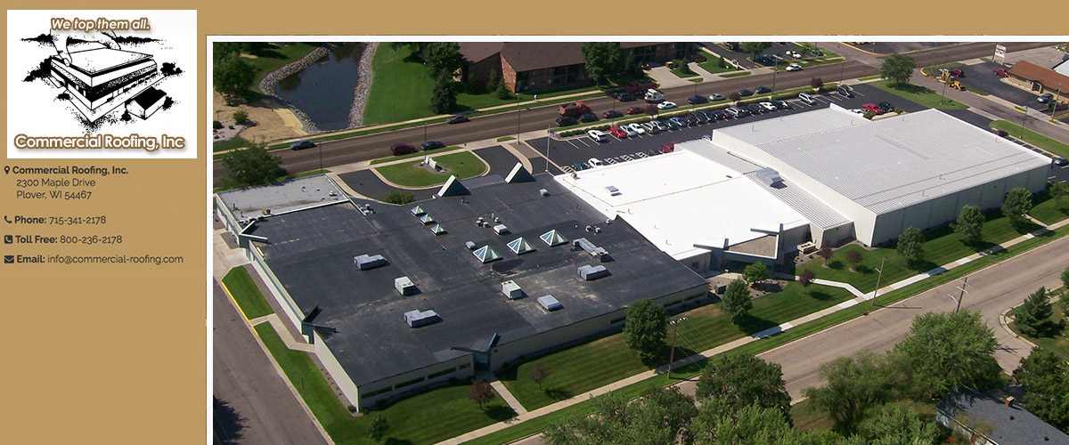 Commercial Roofing in Antigo, WI