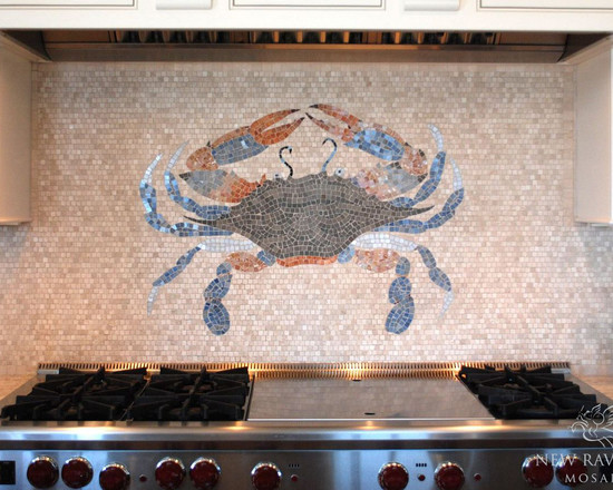 Metal Crab Wall Decor Painted Art Tropical Patio 15 View Images
