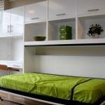 Bedroom Design Glossy White Side Modular Shelving Unit