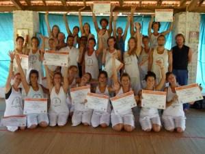 Steve Osman Yoga Teacher training in India