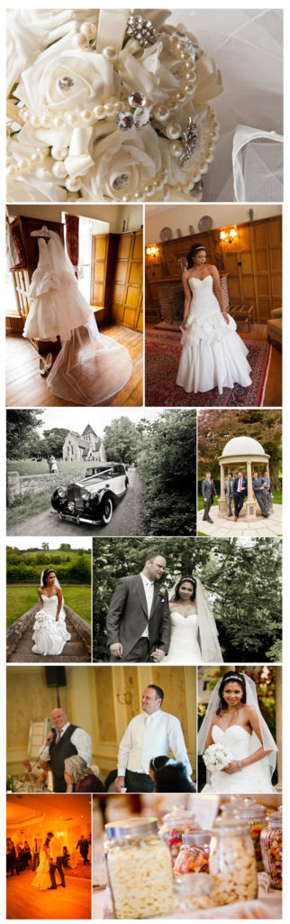 Wedding photography at Wentbridge House