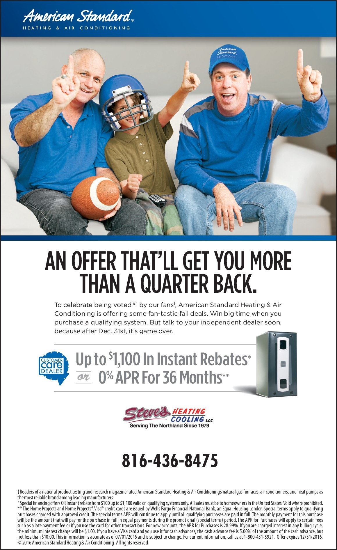 View The Current Promotions At Steve S Heating Amp Cooling
