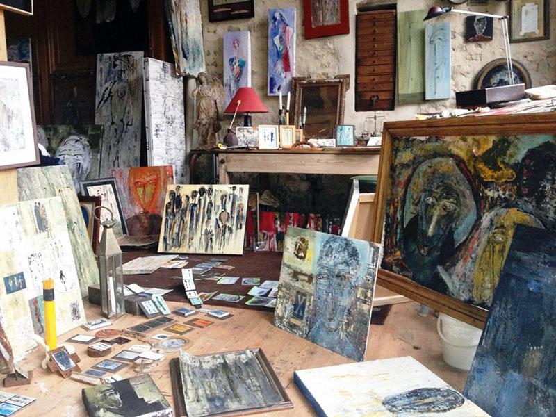 steve shehan - studio peintures / paintings