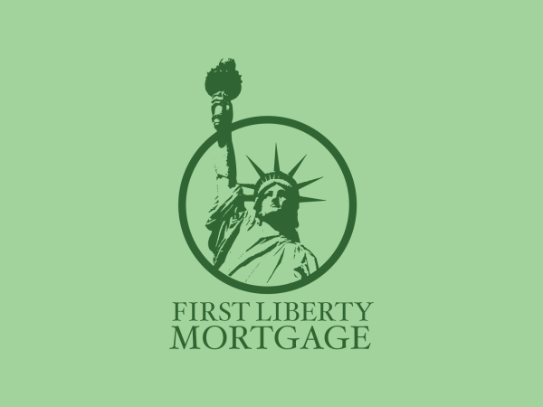 First Liberty Mortgage logo identity design - Portfolio of Steve Shreve