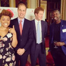 E -online HRH – Prince William listens to Dirty Vegas