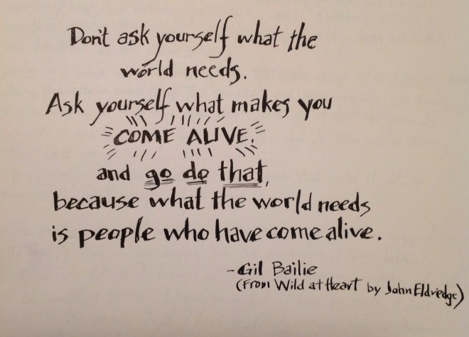 Gil Bailie Quote