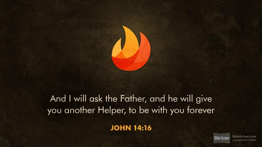 We Need a Helper | A Devo on John 14:11-21