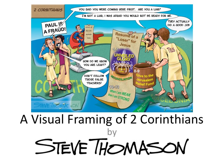 A Visual Framing of 2 Corinthians