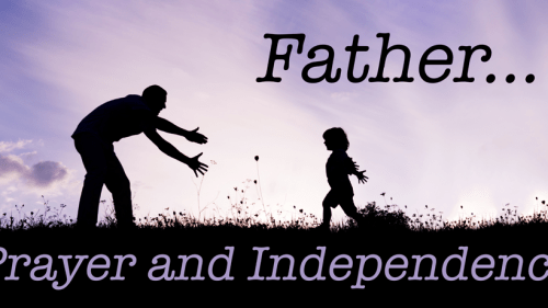 prayer-and-independence