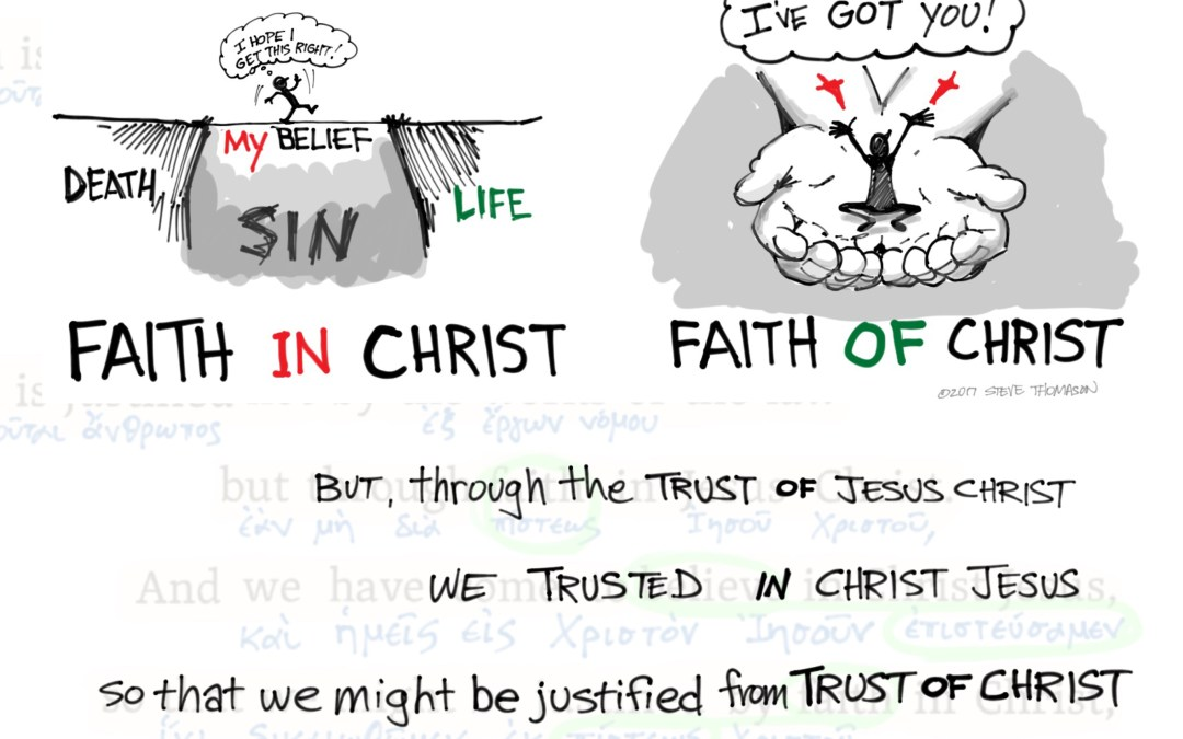 Unpacking Galatians 2:16 | Trust of Christ OR Trust in Christ