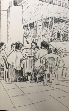 women's retreat at Bombil Pek