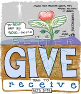 It is better to give than to receive revised