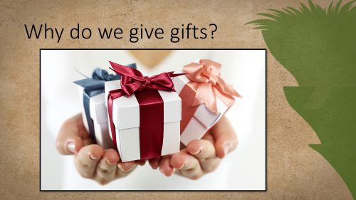 advent conspiracy why do we give gifts