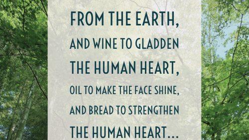 Psalm 104:14-15, 24