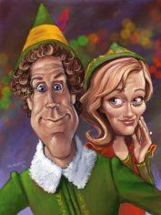 Elf Caricature