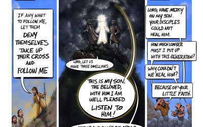 Finding Our Way to the Transfiguration | Page 12 of Matthew is Online