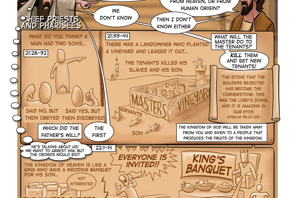 Jesus Speaks Truth to Power | A Sermon on Matthew 22:1-14